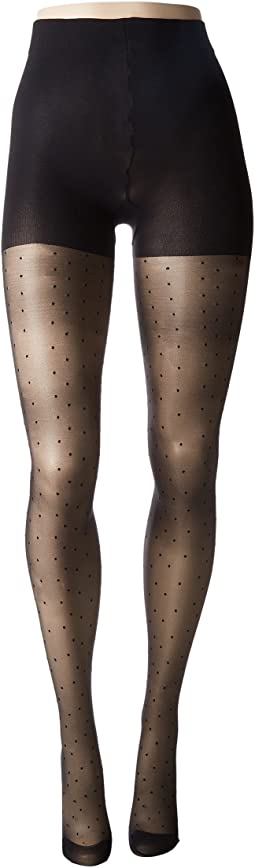 Pretty Polly - Plus Size Curves Pinspot Tights