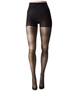 Plus Size Curves Pinspot Tights