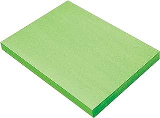SunWorks Construction Paper, Light Green, 9