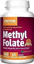 Jarrow Formulas Methyl Folate 5-MTHF, Supports Brain, Memory, Cardiovascular Health, 400..