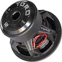 Toro Tech – Force 12, 12 Inch 1500 Watts RMS – 3000 Watts MAX – Dual 4 Ohm 3 Inch..