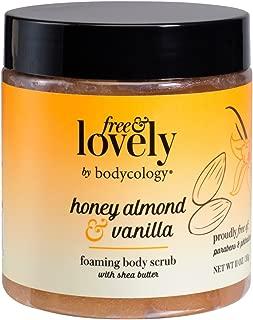bodycology Free & Lovely Honey Almond & Vanilla Foaming Scrub 10.5 fl oz, pack of 1