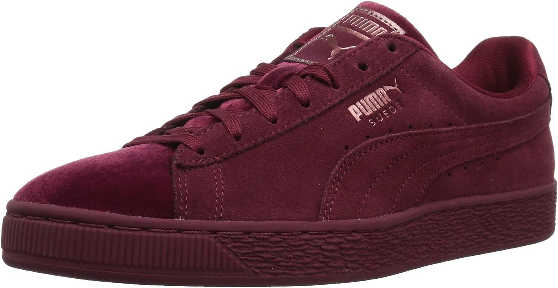 PUMA Womens Suede Classic Velvet Wn Sneaker