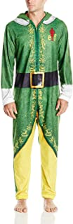 Men's Buddy The Elf Hooded Union Suit