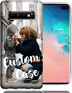 MUNDAZE Personalized Custom Phone Case for Samsung Galaxy S10 Plus Design Your Own Phone Cover