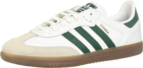 adidas Originals Turnschuhe Samba OG B75680 Weiß Grün