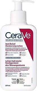 CeraVe Itch Relief Moisturizing Lotion | Skin irritations, sunburn, insect bites & scrapes anti-itch cream with 1% Pramoxi...