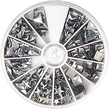 Schwarz perfk 100 St/ück Runde Doppelkappe Nieten 8x8 mm Leder Nietset Ziernieten Metallnieten Kn/öpfe Leder Dekor