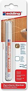 comprar comparacion edding e-8900-1-4624 - Marcador para retocar muebles color Blanco puro, Retoca y repara arañazos y desperfectos