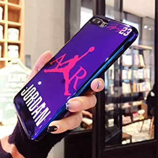 New Fly Man Jordan Blu-Ray - Soft Silicon Cover Case for iPhone 6 6S Plus 7 7Plus 8 8Plus X XR XS Max Jump Man Phone Cases Coque (for iPhone 6 6S Plus)