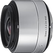 Sigma 19mm F2.8 EX DN Art (Silver) for Micro 4/3