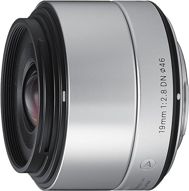 Sigma 19 mm F2.8 DN SE Art - Objetivo para cámaras Digitales sin Espejo Montura E (Sony) Plateado