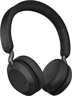 Jabra Elite 45h, Titanium Black – On-Ear Wireless Headphones with Up to 50 Hours of Battery Life, Superior Sound with Adva...