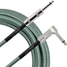 "Lulu Home 10 Feet Guitar Cable, Professional Instrument Cable, Straight 1/4"" TS to.."