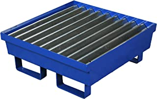 Eagle 1611ST One Drum Steel Containment Pallet, Blue