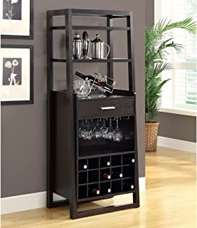 Monarch Specialties , Home Bar, Ladder Style, Cappuccino, 60