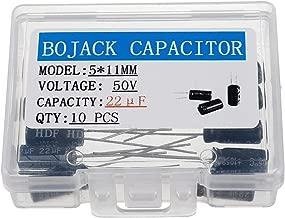 10 PCS NICHION CAPACITOR 2.2uF 50v 5x11mm 105℃