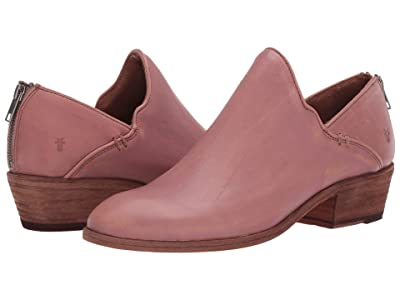 Frye Carson Shootie (Pale Blush Sun-Washed Leather) Women