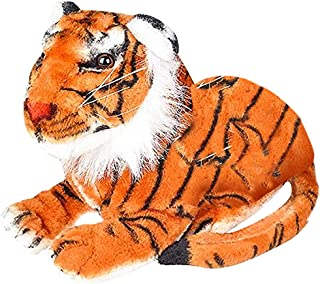 ArtCreativity Plush Tiger - 2 Ft Long - from Paw to End of Tail - Soft and Cuddly Stuffed Animal - in Comfortable Laying Position - Nursery Decoration Idea, Great Gift for Boys, Girls, Toddlers