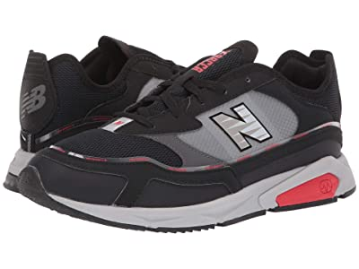 New Balance Classics X-Racer (Black/Velocity Red Synthetic/Mesh) Men
