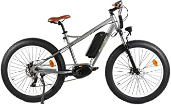 EBIKELING MID Drive Electric Bicycle 36V 250W 26 x 4 Fat Tire LG Battery ebike