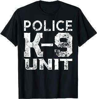 K-9 Police Officer Tshirt Law Enforcement Cop Shirt