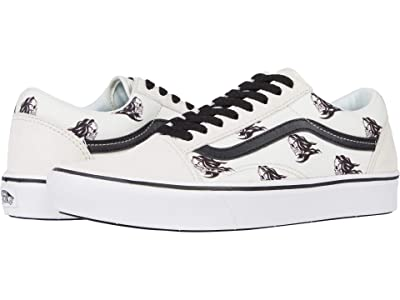 Vans Comfycush Old Skool ((Sixty Sixers) Blanc/White) Athletic Shoes