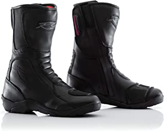 RST 1696 Tundra CE Waterproof Ladies Touring Leather Motorcycle Boots - Black 38