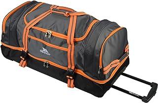 b55dc223c3 Trespass Galaxy Rolling Duffle Sac de voyage à roulettes/sac de sport Bleu  orange 80