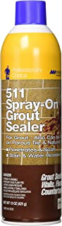 Miracle Sealants GRTSLRAEROCS Grout Aerosol Spray Penetrating Sealers, 15 oz.