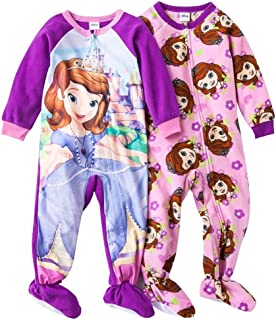 Girl's Sofia the FIrst Blanket Sleepers (Set of 2)