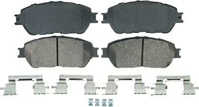 Wagner QuickStop ZD906A Ceramic Disc Pad Set Includes Pad Installation Hardware, Front