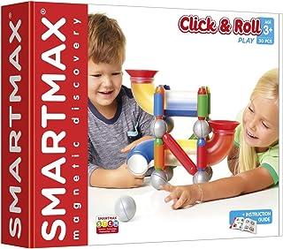 Smartmax Click & Roll Zestaw Klocków Magnetycznych, Wielokolorowy, Od 3 lat, SMX404