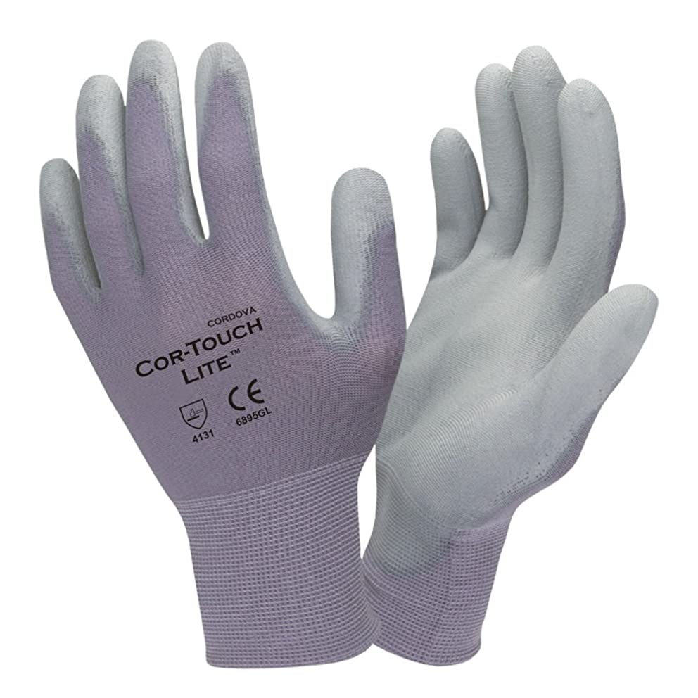 Cordova 6895G Cor-Touch Lite Gloves Large 12 Pairs