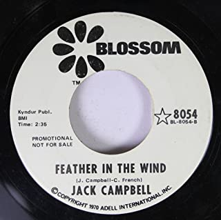 JACK CAMPBELL 45 RPM Feather In the Wind / She Don't Live Here Anymore