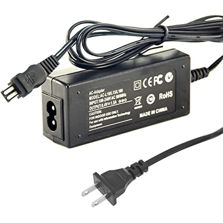 AC Adapter Charger for SONY Handycam DCR-TRV510E DCR-TRV520E TRV525E DCR-TRV530E