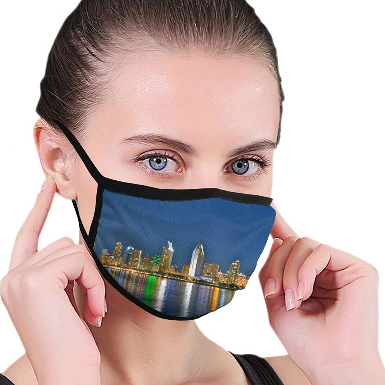 2 Packs Washable Sunset Facial Covering Mouth Wear Unisex Cotton