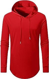 Aiyino Men's S-5X Long Sleeve Fashion Athletic Hoodies Sport Sweatshirt Hip Hop Pullover