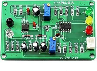 Gikfun SMD Infrared Reversing Radar Practice Soldering Kit Welding Training Board for Arduino DIY EK1950