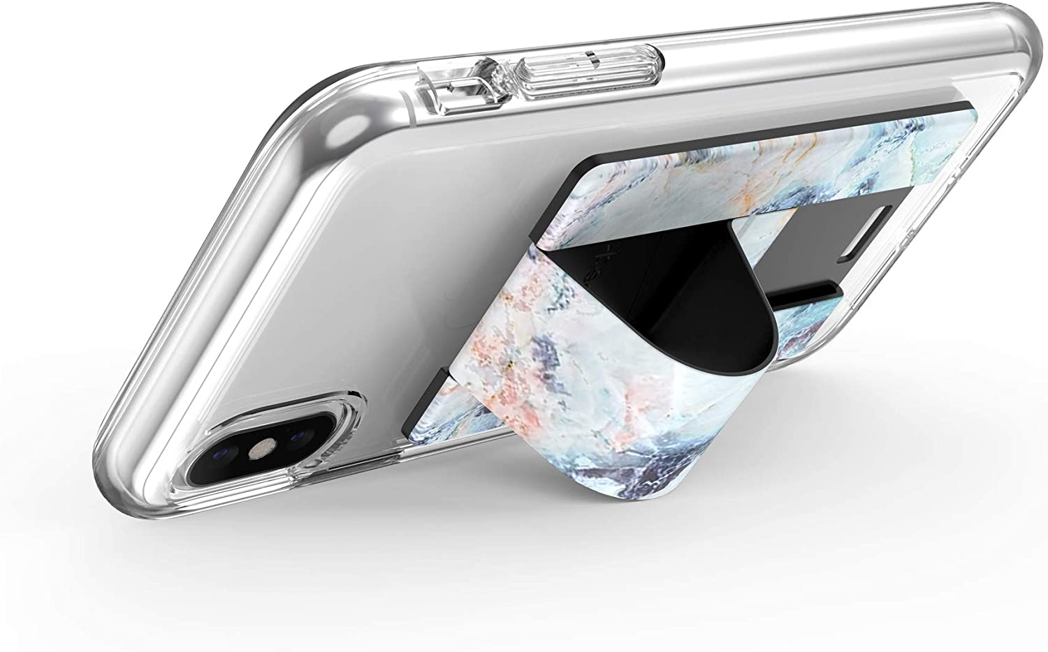 ShatteredMarble Gold Cases Speck Products GrabTab Cell Phone Holder and Stand Works With Most Cell Phones