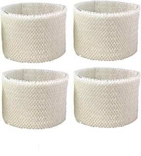Air Filter Factory 4 Pack Compatible Replacement for Kenmore 15408, 154080, 17006, 29706, 29988, 299880C Humidifier Wick Filters