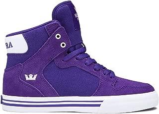 Supra Kids Mens S11235K-462 Vaider (Little Kid/Bid Kid) Purple Size: 11