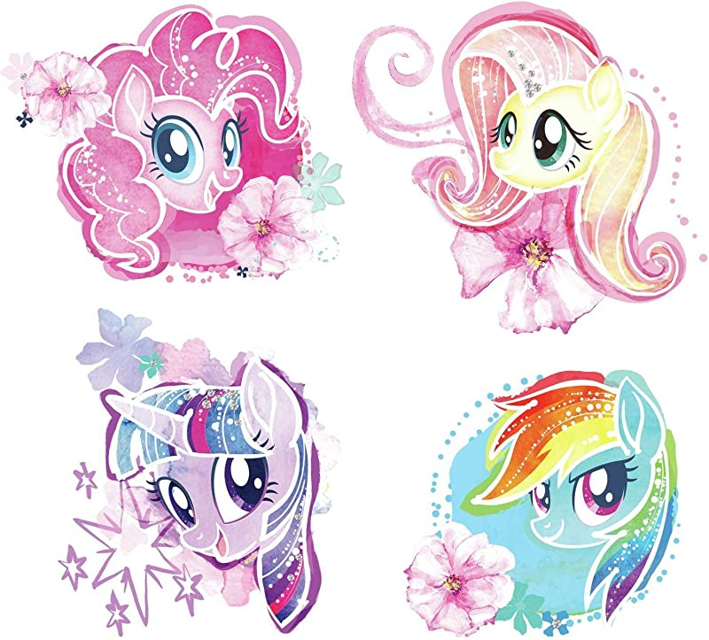 RoomMates RMK3664SCS My Little Pony The Movie Peel And Still Wall Decals Multi