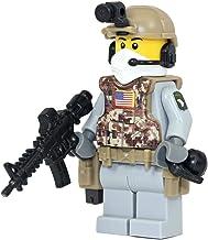 Modern Brick Warfare Army Airborne Ranger Soldier Custom Minifigure