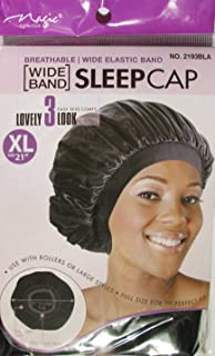 Magic Wide Band Sleep Cap by Masic Collection