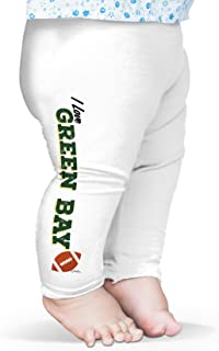 TWISTED ENVY I Love Green Bay American Football Baby Novelty Leggings Trousers