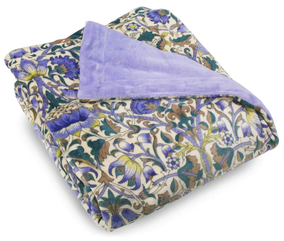ロマンス小杉(Romance Kosugi) 毛布 〔V&A〕マイヤー合わせ毛布(ブルー) 140×200cm 1-2832-8500-8700