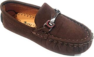 T.R TRADERS Latest Brown Baby Loafers Shoes for Unisex