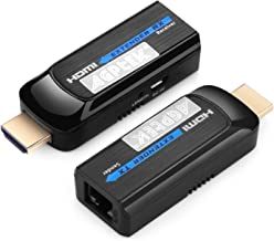 1080P Mini Digital HDMI Network Extender Over Single Cat6/7 Ethernet Cable Up to 131ft / 40m