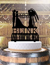 Weeping Angels Don't Blink Doctor Who Wedding Cake Topper